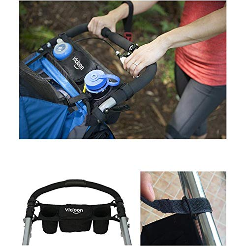 Baby Pram Pushchair Stroller Buggy Cup Bottle Drink Holder Storage Bag Organiser