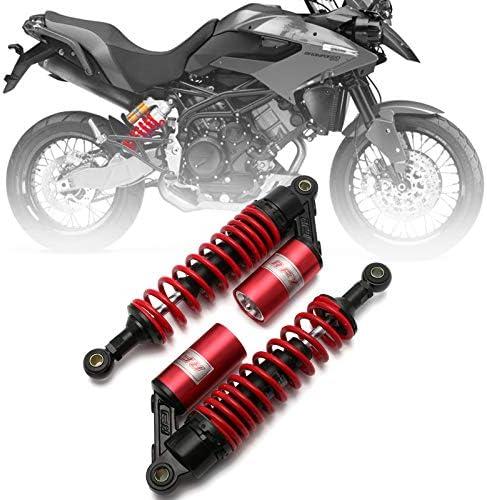 2PCS 320MM 12.5/'/' Motorcycle ATV Scooter Rear Shock Absorbers Fit Honda Yamaha