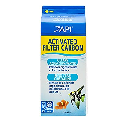 API Activated Filter Carbon, Half Gallon Carton, Net Weight 22-Ounce from Aquarium Pharmaceuticals