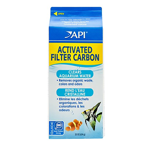 API ACTIVATED FILTER CARBON Aquarium Filtration Media 22-Ounce Box Api Activated Filter Carbon