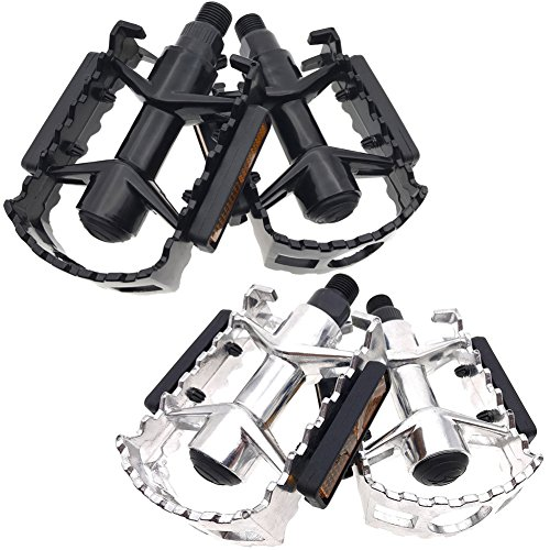 Aluminum Road Bike (ARTHEALTH Bicycle Pedals Bike Pedals Aluminum Alloy 9/16