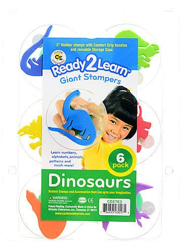Center Enterprises Ready2Learn Giant Stampers (Dinosaurs) 1 pcs sku# 1846130MA