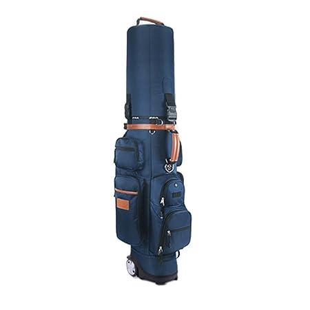 19ff60b35d71 JI BIN SHOP® Golf Bag Golf Cart Bag With Wheels Golf Club Bags  Multifunction Aviation