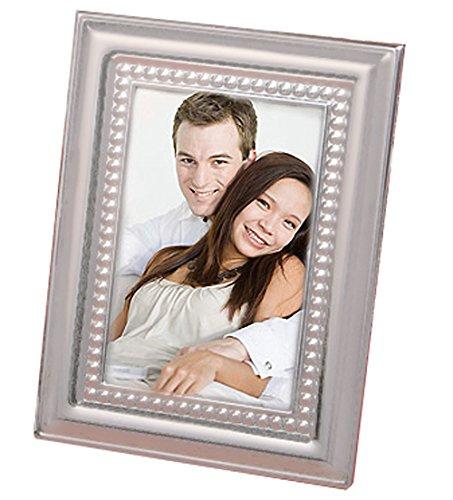Matte Silver Metal Place Card/Photo Frames, 30 ()
