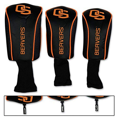 (WinCraft NCAA Oregon State University Mesh Headcover (3 Pack))