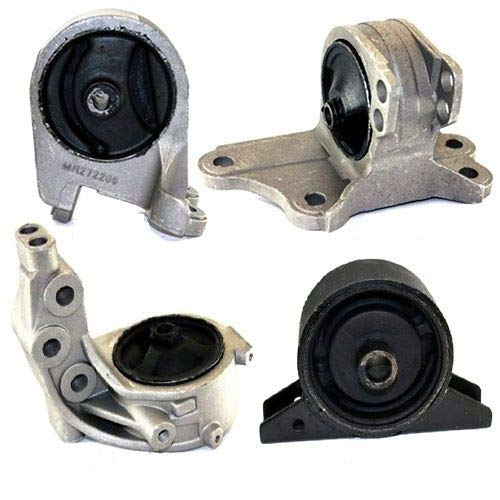 K0036 Fits 2000-2005 Mitsubishi Eclipse 3.0L Engine Motor & Transmission Mount Automatic 4 PCS : A4603, A4616, A4614, A4611