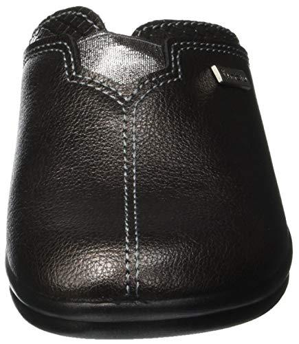 Grigio Retro 045 Aperte Betulla Pantofole Fucile Di canna Inblu Donna Sul vqY1vI