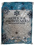 Dobar Glittering Artificial Snow Flakes - 2 Oz. Bag