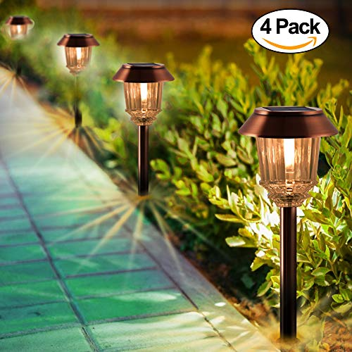 Bronze Solar Lights For Garden in US - 6