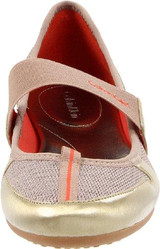 Calvin Klein  Rorie, Ballerines pour femme Or Platino 39