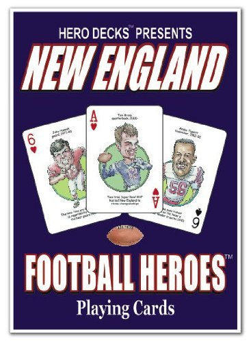 Hero Decks - New England Patriots - Playing Cards by Channel Craft