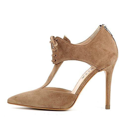 ShoesALINA Mujer caño Evita marrón medio gnH0SdOWWB