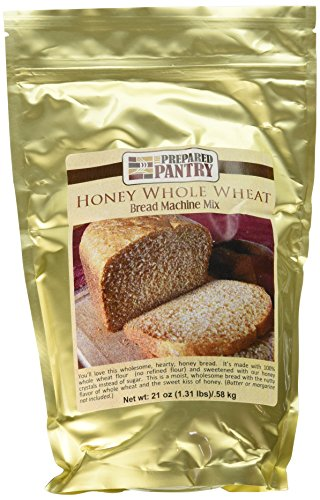 - The Prepared Pantry Honey Whole Wheat Bread Machine Mix, 84 Ounce