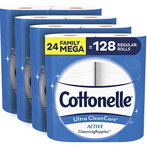 Cottonelle Ultra CleanCare Soft