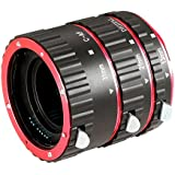 Neewer® Auto Focus Macro Extension Tube Set for Canon DSLR Cameras Such as EOS 5D Mark II III,7D,10D,20D,30D,40D,50D,300D,350D,400D,450D,500D,550D,650D,700D,1000D (Metal Bayonet)