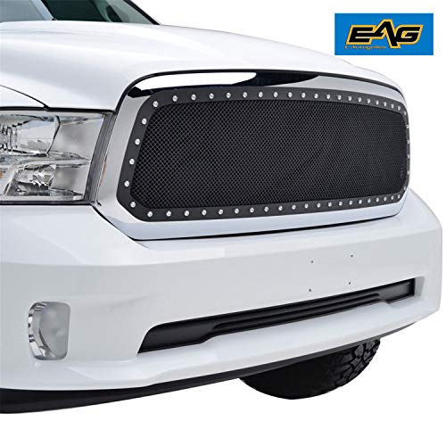 EAG Mesh Grille Insert for 13-18 Dodge Ram 1500 (Grille Dodge Ram Inserts)