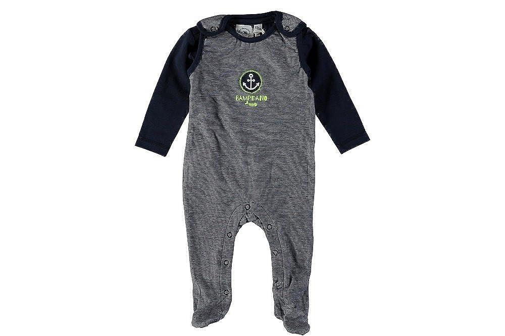 Set OVE Strampler Spieler Shirt blau Fr/ühchen Gr.50-68 LITTLE BAMPIDANO Baby Jungen 2tlg