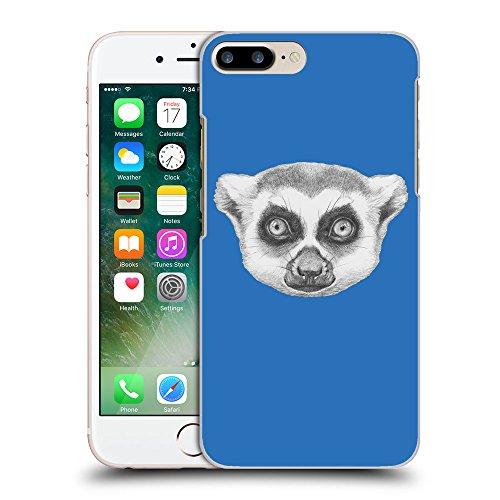 GoGoMobile Coque de Protection TPU Silicone Case pour // Q05390608 Portrait lémurien Azur // Apple iPhone 7 PLUS