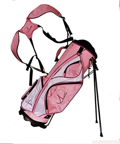 Sephlin – Ultra Lite Womens Golf Bag Lite Pink White Purple