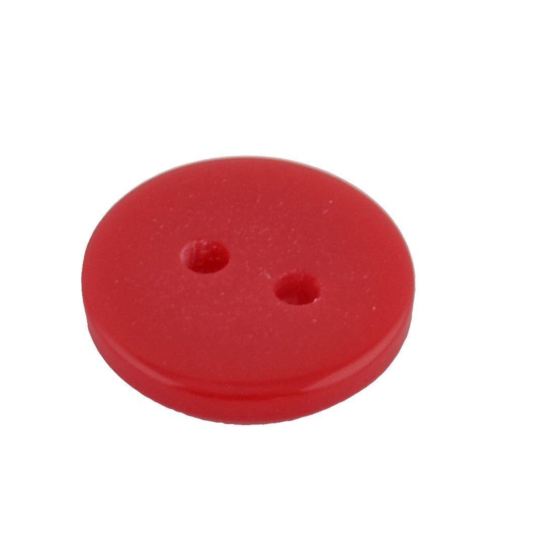 Amazon.com: eDealMax plástico Redondo Agujeros del Doble del botón de costura Abrigo 13mm Dia 250 piezas de Colores surtidos: Home & Kitchen