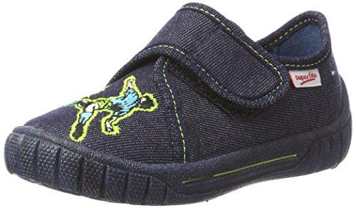 Superfit Bill, Zapatillas de Estar por Casa para Niños Blau (Ocean Kombi)