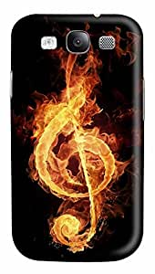Samsung Galaxy S3 I9300 Cases & Covers - Music Fire Custom PC Soft Case Cover Protector for Samsung Galaxy S3 I9300