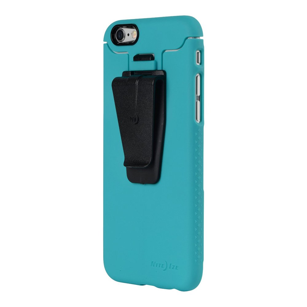 Nite Ize Connect Case for iPhone 6 Plus - Retail Packaging - Teal