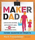 As the editor in chief of MAKE magazine, Mark Frauenfelder has spent years combing through DIY books, but he's never been able to find one with geeky projects he can share with his two daughters. Maker Dad is the first DIY book to use cutting...