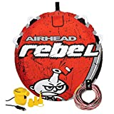 Best Towable Tubes - Airhead Rebel 54 Inch 1 Person Durable Red Review