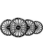 Set Sparco wieldoppen Torino 15 inch zwart/zilver
