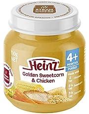 Heinz Golden Sweetcorn and Chicken Jar,110 g
