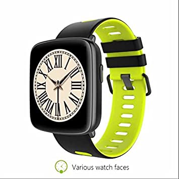 Smartwatch Relojes Deportivo Relojes Inteligentes,Sensor de frecuencia cardíaca,Control Remoto de Cámara,