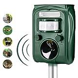 Best Cat Repellents - Animal Pest Repeller, Solar Powered Ultrasonic Pest Repellent Review