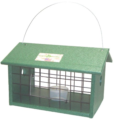 Songbird Essentials SERUBMWJAIL Meal Worm Jail Bird Feeder