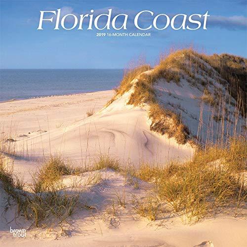 - 2019 Florida Coast Wall Calendar, Florida by BrownTrout