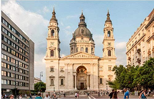 Rompecabezas 1000 piezas de rompecabezas de madera Rompecabezas La Basílica de San Esteban El mayor rompecabezas de la…