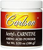Carlson Labs Acetyl L-Carnitine Powder, 100g For Sale