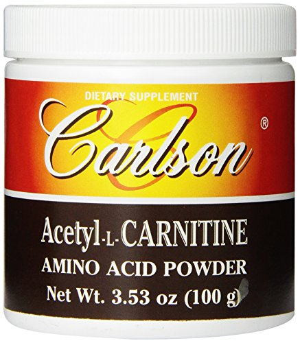 Carlson Labs Acetyl L-Carnitine Powder, 100g