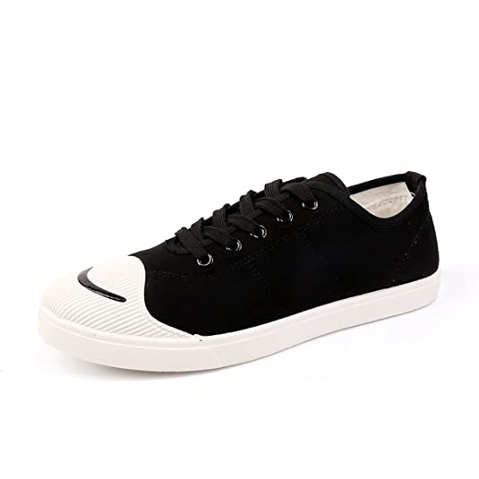 Espadrilles Mens Canvas Shoes Casual Shoes Breathable Outdoor Exercise Sneakers Lace-up Deck Shoes (Color : A Size : 43)