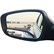 Amazon Lightning Deal 99% claimed: Blind Spot Mirrors. long design Car Mirror for blind side / Door mirrors by Utopicar for large image and traffic safety. Awesome rear view! [stick-on design] (2 pack) …