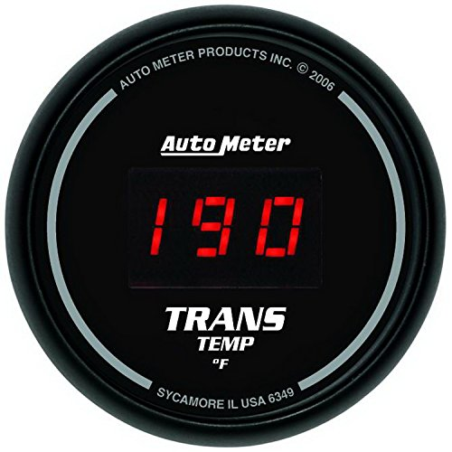 Auto Meter 6349 Sport-Comp Digital Transmission Temperature Gauge ()