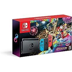 Nintendo Switch w/ Mario Kart 8 Deluxe Console