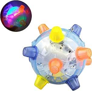 Pywee Pet Toys - Pelota de activación, Bola interactiva con Luces ...