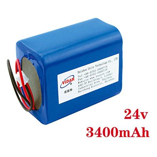 24v 3.4ah 18650 external battery packs 3400mah rechargeable battery for robot outdoor portable lithium batteries