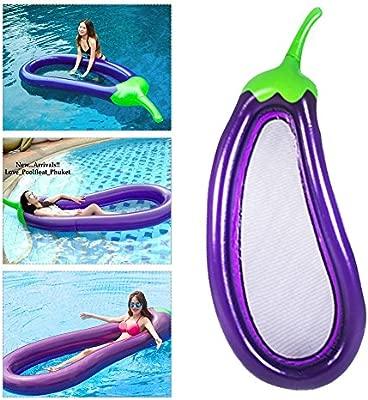 Balsa flotante hinchable en forma de huevo flotante de juguete de ...