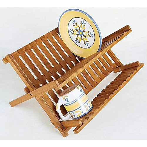 Lipper International 8813 Folding Dishrack product image