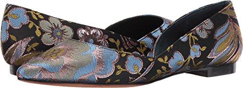 Marc Fisher Ltd Womens Sunny4 Spitse Teen Flat Mostaza Fabric