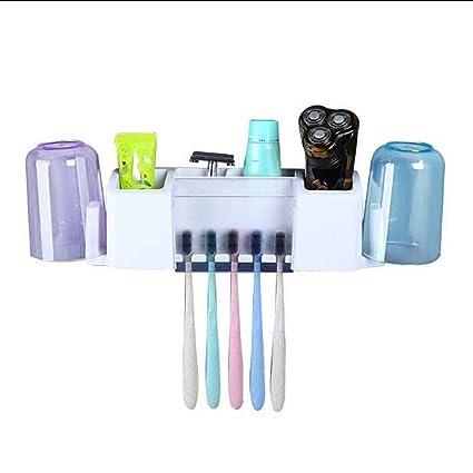 Toothbrush holder Cuarto De Baño Montado En La Pared Titular De La Boca Taza De Juego