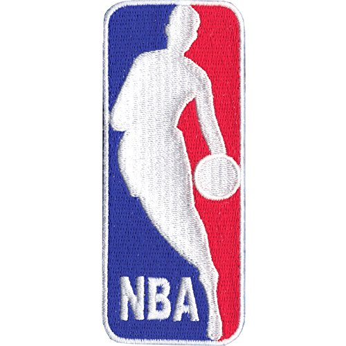 - Official NBA Basketball League Large Logo 'Jerry West' Patch