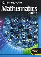 Holt McDougal Mathematics: Student Edition Grade 7 2012